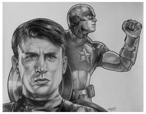 Captain America - by Tony