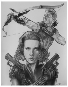 Hawkeye Widow - by Tony