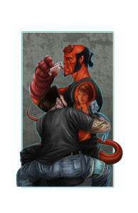 Hellboy - by Tony
