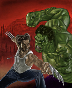 Hulk Wolverine - by Tony