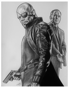 Nick Fury - by Tony