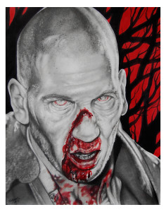 Zombie Shane - by Tony
